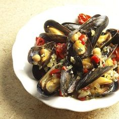 Spanish Tapas-Inspired Mussels - EatingWell.com