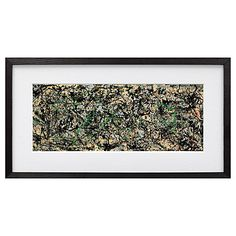 Buy Jackson Pollock - Lucifer Framed Print,  54 x 112cm Online at johnlewis.com