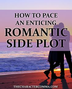 Just like any sub plot, cultivating a romantic side plot adds depth and emotional appeal to your story. That is, as long as you do it correctly! Here's a breakdown of romantic stages you can use to build a well-paced romantic side plot in your novel. #writing #writingtips