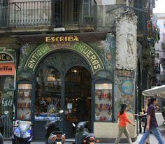 Antigua Casa Figueras, Barcelona an der Rambla de San José. - See more at: http://www.claudoscope.eu