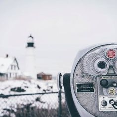 """64 Likes, 3 Comments - Live + Work In Maine (@liveworkmaine) on Instagram: """"So beautiful even the locals take a peek at our lighthouses every now and again!{: @mimigabes}"""" Nubble Light House"""