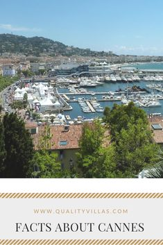 The stunning French Riviera city, Cannes, is a place of affluence and luxury. Discover what Cannes is well known for beyond its amazing film festival. French Villa, French Riviera, Cool Places To Visit, Cannes, Croatia, Travel Inspiration, The Good Place, Europe, Italy