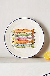 Sardinia Dessert Plate