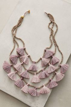 Bluma Project Gia Layered Bib Necklace