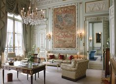Windsor Suite. Ritz, Paris. Usually Louis XV is not my style, but in Paris...it just feels right.