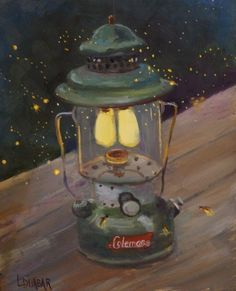 16 best Fireflies images on Pinterest   Fireflies  Glow worms and     Vintage Coleman by Linda Dunbar