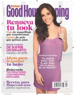 En Good Housekeeping abril: Sandra Echeverría.