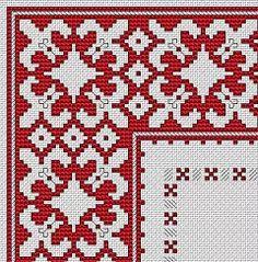Bulgarian Motif cross stitch pattern
