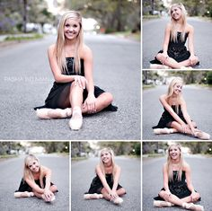 Cute Senior pics; if I ever get a ballerina!