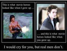 Clint Eastwood is a better hero. Memes Humor, Funny Memes, Jokes, Movie Memes, Rambo 3, Real Men Quotes, Very Demotivational, Texas, Hero Movie