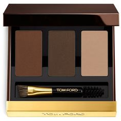 Tom Ford Brow Sculpting Kit, Fall Color Collection found on Polyvore featuring beauty products, makeup, medium, eye brow kit, eye brow makeup, tom ford makeup, eyebrow cosmetics and wax kit