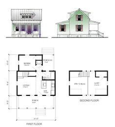 Lowe's Katrina Home Plans | Plans not to scale. Drawings are artistic renderings and may not ...