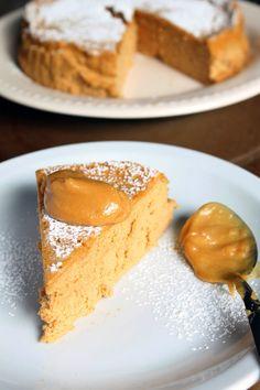 Cheesecake Soufflé de Dulce de Leche, con solo 3 ingredientes