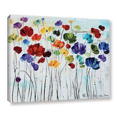 Charlton Home 'Spring Colors' Canvas Print & Reviews   Wayfair