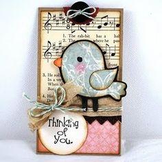 fantastINK: Everyday Tags - Create-a-Critter Bird & Lamb Atc Cards, Cricut Cards, Card Tags, Gift Tags, Card Kit, Tarjetas Diy, Create A Critter, Karten Diy, Little Presents