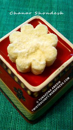 A Traditional Bengali Sweets - Chanar Shondesh (Ricotta Cheese Sweet) In Not So Traditional Way
