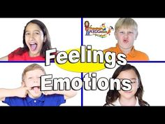 """Emotions song for Children, Kids and Toddlers - """"Feelings"""" by Patty Shukla - YouTube"""