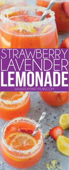 The Best Strawberry Lavender Lemonade Recipe Great For Fans Of Or Just Regular Perfect Baby Showers