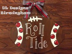 Alabama Door Hanger-Roll Tide. $35.00, via Etsy.