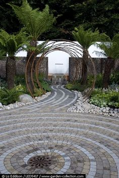 John Everiss Design at RHS Flower Show at Tatton Park