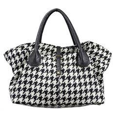 Houndstooth Bag...for the AL fans
