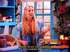 """18 Important Life Lessons Phoebe Taught On Us On """"Friends"""""""