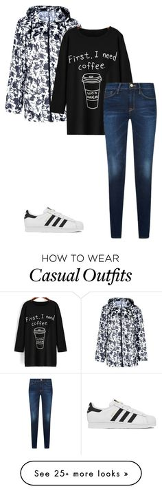 """Casual mom"" by jadelaurencox on Polyvore featuring adidas"