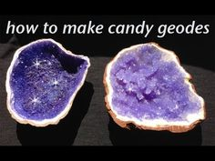 Rock Candy Edible Geode HOW TO cook that Rock Candy Recipe Ann Reardon - YouTube