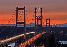 Tacoma, WA Narrows Bridge