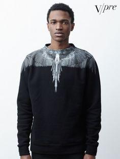 Marcelo Burlon County of Milan Alas sweatshirt $370.56
