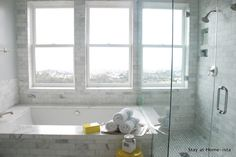 Things about this bathroom | Marble tile master bathroom