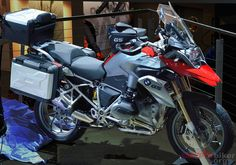 water-cooled R1200GS motorcycle