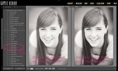 2 Steps to a Matte Black and White Edit in Lightroom