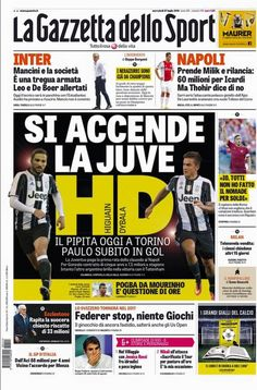 Rassegna stampa Italia: Higuain sbarca, Icardi resta, Milik arriva - http://www.maidirecalcio.com/2016/07/27/rassegna-stampa-italia-27-luglio.html