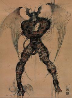 Devilman by Yoshitaka Amano