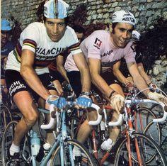 Felice Gimondi & Eddy Merckx - Giro d'Italia 1974