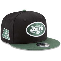 New Era New York Jets 9FIFTY Baycik Snap Snapback Hat a04a55124e2