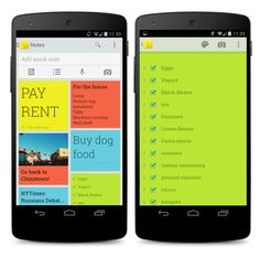Google Keep - Still looking for the perfect mobile to do list...maybe this one is it!