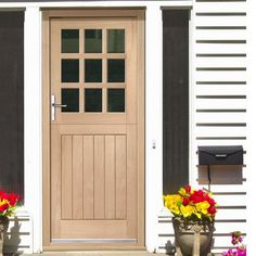 prefinished westminster external oak door decorative double glazing