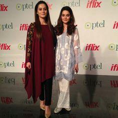 Minal Khan and Aiman Khan Spotted at PTCL and IFLIX Partnership Event! ❤ #Beautiful #Gorgeous #PrettyGirls #AimanKhan #MinalKhan #LoveSisters #PakistaniActresses #PakistaniCelebrities 😍 ✨