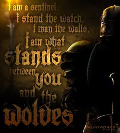The only difference between sheepdogs and wolves is their motivation.....don't make us into wolves!