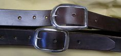 Custom Order for markaugust Two Belts Cordovan by galeatherlady, $72.00