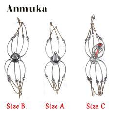 Anmuka High Quality 8-10 Hooks Crab Hook Lead Head Explosion Fishing Hooks Trap Fishhooks Lake Pond Fishing Accessories #Affiliate