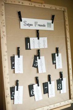 Deco lovers DIY wedding of Tali wedding photography - Wedding Types, Wedding Pins, Diy Wedding, Dream Wedding, Wedding Day, Seating Chart Wedding, Seating Charts, Phuket Wedding, Wedding Designs