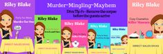 Release day for 2 Direct Sales Divas #cozy #mystery #novellas