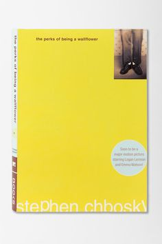 The Perks Of Being A Wallflower By Stephen Chbosky $14.00 (favorite book of all time, so far.)