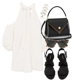 """""""Untitled #4205"""" by theeuropeancloset on Polyvore featuring MANGO, CÉLINE and Miss Selfridge"""
