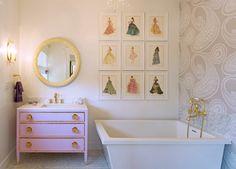 Traditional Bathroom by Carolyn Reyes
