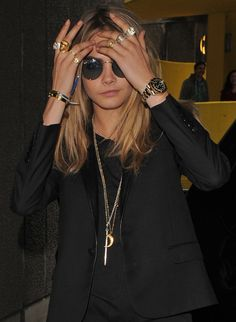 CARA DELEVINGNE STACKING RINGS