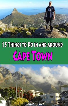 We spent 3 months in Cape Town. It is one of the most beautiful places on earth. This post covers 15 things to see and do in and around Cape Town, South Africa #bbqboy #Capetown #Southafrica #travel
